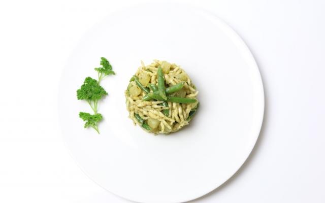 Trofie con Fagiolini e Patate