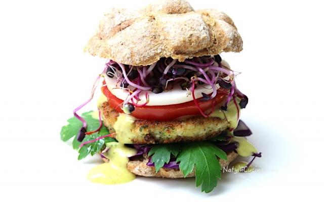 Burger di Cavolfiore e Tofu