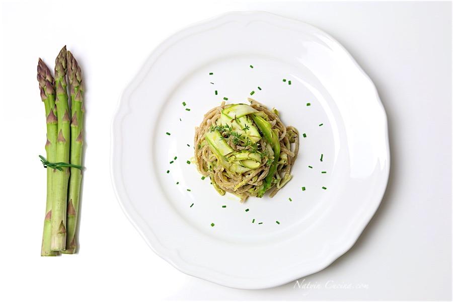 Spaghetti di Farro con Asparagi